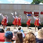 Folkloregruppe aus Slawsk (Russland)