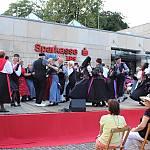 Sternpolka zum Abschluss des Festes