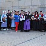 Abschied beim Volkstanztreffen in Bad Bentheim