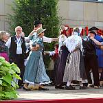 Abschlusstanz beim Volkstanztreffen Bad Bentheim 2013