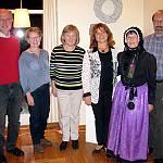 Der Vorstand des Vereins Volkstanz und Folklore Emsland/Grafschaft Bentheim freut sich auf das Volkstanztreffen am 18. Juni 2017 in Bad Bentheim (v.l.n.r.): Franz Barkmann, Maria Schade, Annegret Brans, Irina Kempel, Marianne Aschermann, Rolf Brunsch